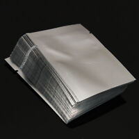 100Pcs/Pack Silver Aluminum Foil Mylar Bag Vacuum Sealer Food Storage Package CE