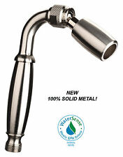 High Sierra's 1.5 GPM Low Flow Solid Metal Handheld Showerhead: Nickel