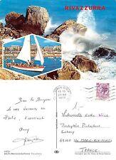 Rivazzurra 2 PANORAMI ANNO 1972 VIAGGIATA (I-L 150)