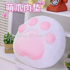 Game Neko Atsume Cat Catlike Cute Cat Paw Cushion Hold Pillow Plush Doll Toy New