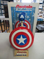 SIDESHOW COLLECTIBLES CAPTAIN AMERICA MARVEL ARCHIVE SET SHIELD SCALED REPLICA
