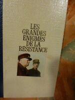 tome 1 grandes enigmes de la résistance t b état 1969