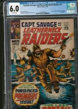 MILITARY SECTION: CAPT. SAVAGE AND HIS LEATHERNECK RAIDERS # 1 CGC 6.0