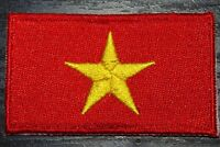 VIETNAM Vietnamese Country Flag Embroidered PATCH Badge *NEW*