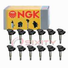 12 pc NGK Ignition Coils for 2016-2018 Bentley Flying Spur 6.0L W12 Spark rz