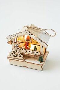 Anthropologie Light Up Village Ornament-$24 MSRP