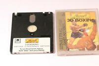 RARE Amstrad CPC 464 664 6128 Disk Game -- 3D BOXING -- BY Amsoft  (1985)