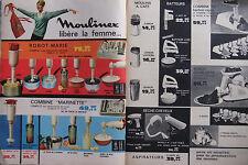 PUBLICITÉ DE PRESSE 1962 MOULINEX ROBOT-MARIE LIBERE LA FEMME - ADVERTISING