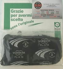 ORIGINALE FILTRO ODORI IN CARBONE N.1 VORWERK FOLLETTO K130 K131 KOBOLD