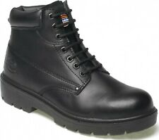 Dickies Antrim Steel Toe-Cap Safety Boots - Black or Brown Sizes 4-13 FA23333