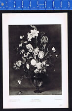 Bouquet of Flowers - Daniel Seghers- 1939 Rotogravure Art Print