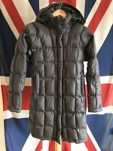 THE NORTH FACE 600 PADDED DOWN METROPOLIS PUFFER / PARKA JACKET & HOOD SIZE XS