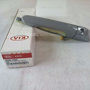KIA Sedona HYUNDAI Entourge  Exterior Door Handles Genuine OEM 82660-4D000