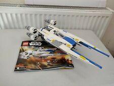 Lego Star Wars Set 75155 - Rebel U-Wing Fighter - No Minifigures