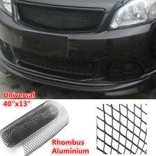 "Universal Rhombus Aluminium Car Exterior Vent Intake Air Mesh Grille Net 40""x13"""
