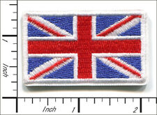 20 Pcs Embroidered Iron on patch National Flag Britain AP051bD