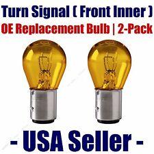 Front Turn Signal/Blinker Light Bulb 2pk - Fits Listed Audi Vehicles - 2357A