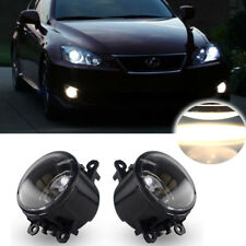 Clean Clear Lens Fog Replace Lamps w/ H11 Halogen For Acura Honda Ford Nissan