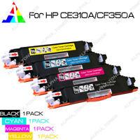 4PK CF350A Laser Toner Cartridge For HP 130A Color LaserJet Pro MFP M176n M177fw