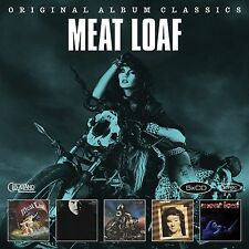 MEAT LOAF 5CD NEW Dead Ringer/Midnight/Bad Attitude/Blind Before I Stop/Live