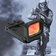 3 MOA 1X Holographic Hot Sight Red Dot Reflex Sight Flip Scope