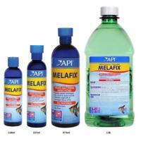 API MELAFIX 118ML 237ML 473ML BACTER STOP ULCERS FUNGUS FISH TANK TREATMENT