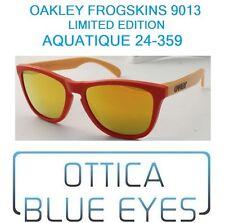 Occhiali da Sole OAKLEY Frogskins 9013 AQUATIQUE 24-359 Frogskin Sunglasses