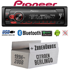 Pioneer Radio Pour Citroën Berlingo Bluetooth Spotify MP3 USB Android Montage