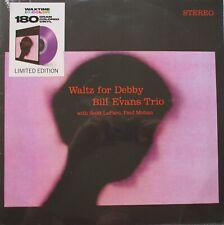 Bill Evans Trio With Scott LaFaro, Paul Motian Waltz For Debby Vinyl PURPLE LP