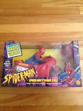 Radio Control Spiderman Spider Cycle 1995 Toy Biz
