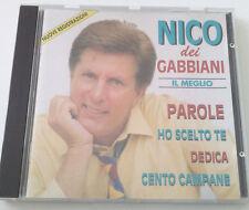 NICO DEI GABBIANI IL MEGLIO CD ALBUM RACCOLTA SUCCESSI SPED GRATIS SU + ACQUISTI