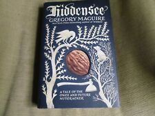 GREGORY MAGUIRE SIGNED - HIDDENSEE -  LIMITED SIGNED HARDCOVER FIRST EDITION NEW