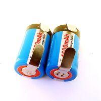 Oral-B Sonic Complete Type 4717 Toothbrush Repair NiMH Battery Set, 1600 mAh