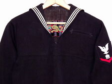 US Navy Military uniform 1960s taylor made jumper / Seafarer Co / embroidered