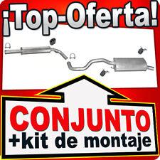 Seat Ibiza II 1.6 1.8 2.0 1.9 TD (6K1) 1993-1996 Silencioso Silenciador 972
