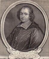 Portrait XVIIIe Louis Alphonse de Valbelle Monfuron Evêque St Omer Fenelon 1750