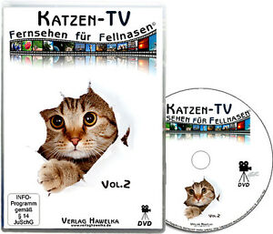 Katzen-TV - Fernsehen für Fellnasen - Vol.2 - Der ultimative Katzenspaß!