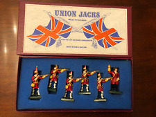 Union Jacks Metal Toy Soldiers - Made in Great Britain (1980s)