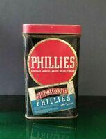 Rare Vintage Rare Bayuk's Phillies America's No. #1 Cigar Tobacco Empty Tin