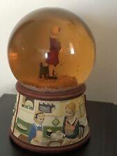 "American Girl Doll Kit Christmas ""1934"" Snow Globe Music Box"