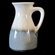 Bay Keramik 711-17 Handled Vase in Duochrome Splatter Glaze c.1960s
