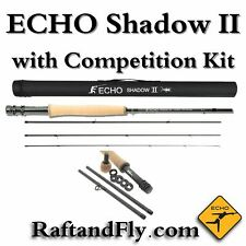 Echo Shadow II 3wt Euro Nymph Fly Rod with FREE Competition Kit Included $289