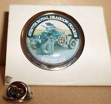HM Armed Forces 4TH/7TH Royal Dragoon Guards Veteran lapel pin badge .