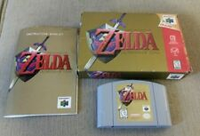 Legend of Zelda: Ocarina of Time IN BOX W/ MANUAL! (Nintendo 64, 1998)