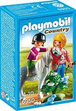 Playmobil 6950 - Pony con Mamma E Bambina