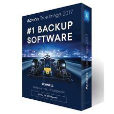Acronis True Image 2017 3 PC Antivirus