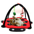 Cat Bed Pet Toy Tree Furniture House Post Scratcher Play Condo Kitten Tower New
