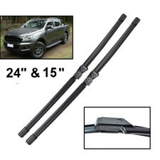 2PCS/Set Front Windshield Wiper Blades Kit Fit For Ford Ranger T6 2015-2018