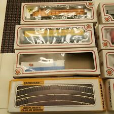LARGE BACHMANN HO TRAIN SET ALONG WITH A TON OF EXTRAS LOOK!!!
