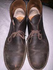 CLARKS DESERT BOOT BEES WAX Brown Mens sz 13 shoes